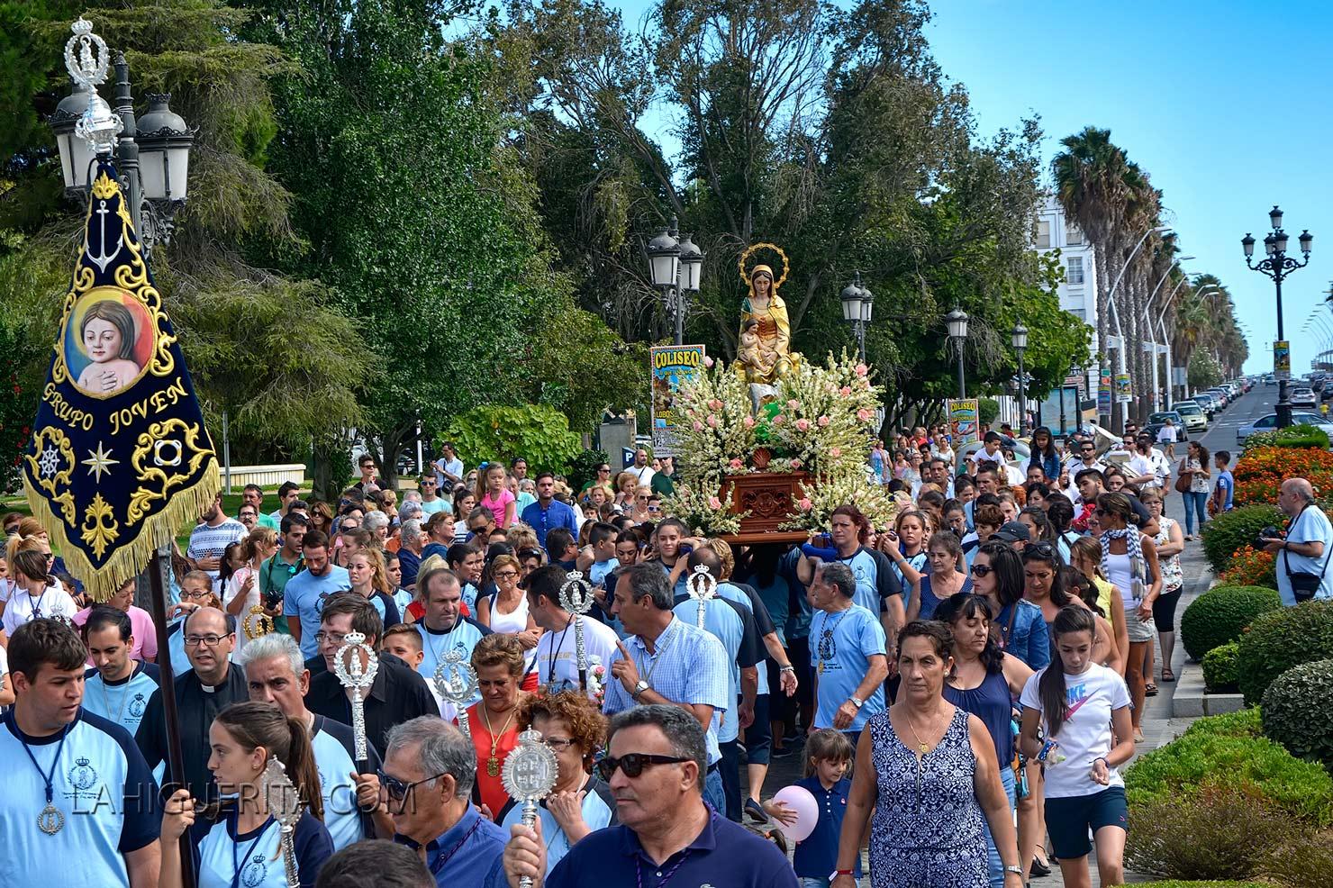 Finalizan las Fiestas de la Virgen del Mar de Punta del Caimán