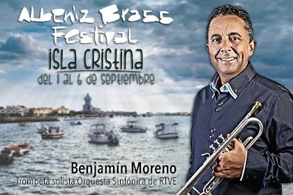 I Concurso Internacional de Trompeta Benjamín Moreno en Isla Cristina