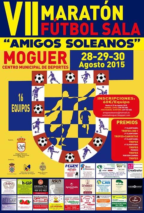 VII Maratón de Fútbol Sala Amigos Soleanos