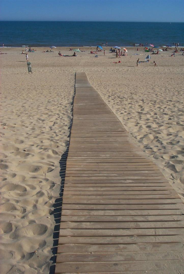 Entrega de diploma a La Antilla como Finalista de 'La playa más accesible de España'