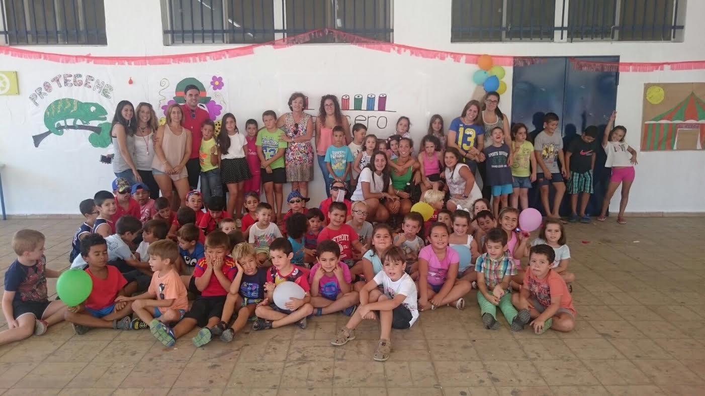 El CEIP El Carmen de Isla Cristina da por finalizado su Campamento de Verano