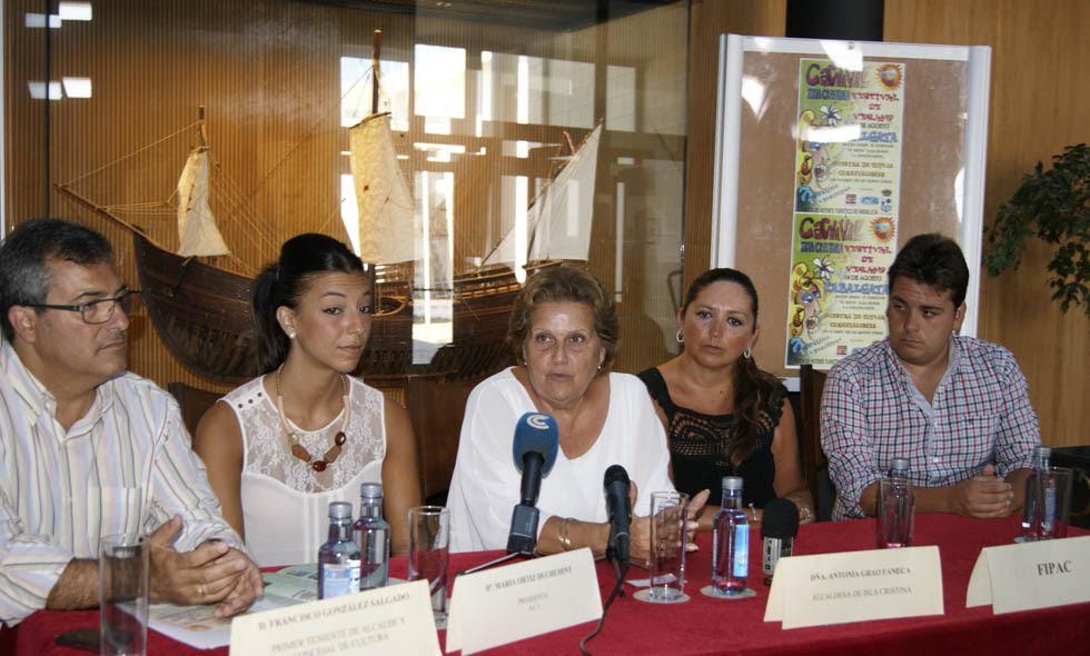 Presentada la Cabalgata de Carnaval de Verano que recorrerá las calles de Isla Cristina el próximo 14 de agosto
