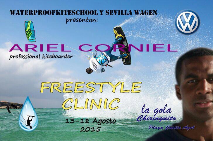 Freestyle Clinic de Ariel Corniel en Isla Cristina