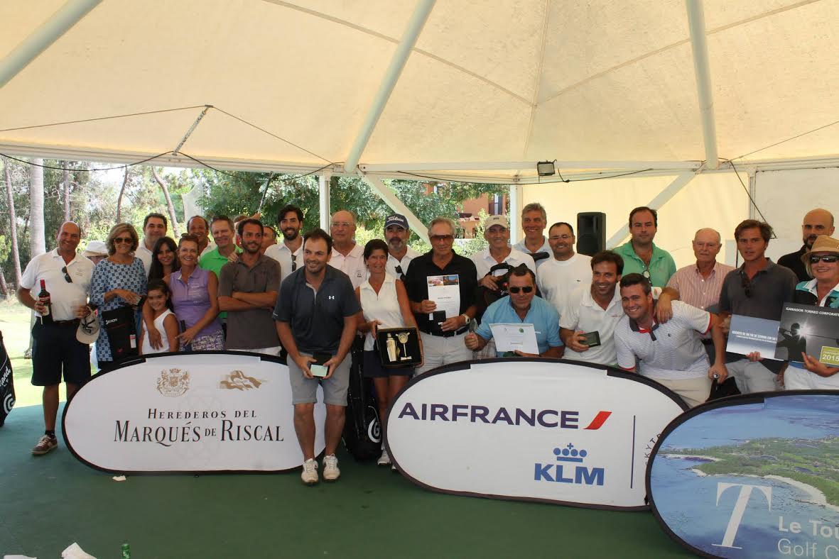 Ganadores del Torneo Corporate en Islantilla