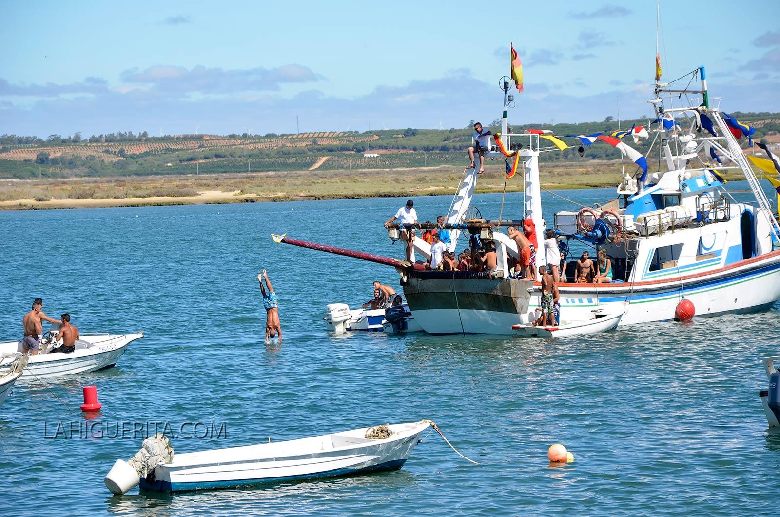 Programación para hoy sábado de las Fiestas de Ntra. Sra. del Mar de la Punta del Caimán de Isla Cristina