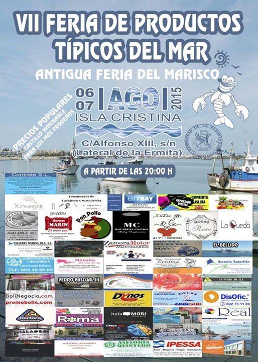 VII Feria de Productos Típicos del Mar de Isla Cristina
