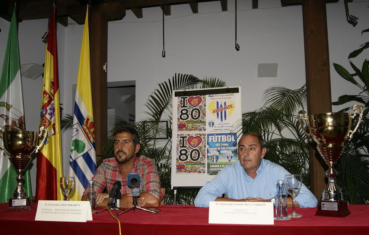 La Música de los Ochenta volverá a sonar en la Fiesta organizada por el Isla Cristina FC dedicada a esta época