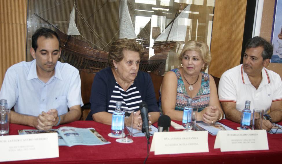 Presentada la programación de las Fiestas de la Virgen del Mar de la barriada isleña de Punta del Caimán