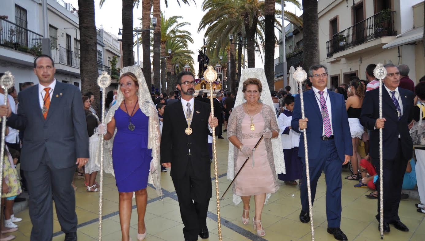 La Procesión Extraordinaria del Gran Poder pone fin a los actos del 75 Aniversario de llegada de la Imagen en Isla Cristina