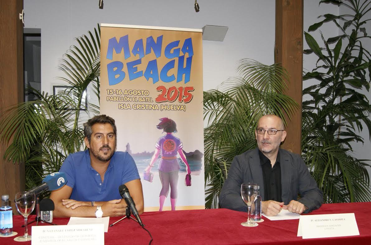 Presentada la II Edicion del Salón del Manga, el Cómic y los Videojuegos 'Mangabeach 2015' que se celebrará en Isla Cristina