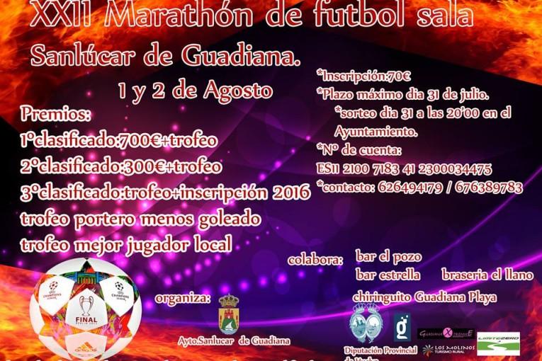 Guadiana Xtremme Campeón del XXII Marathón de Fútbol Sala de Sanlúcar de Guadiana