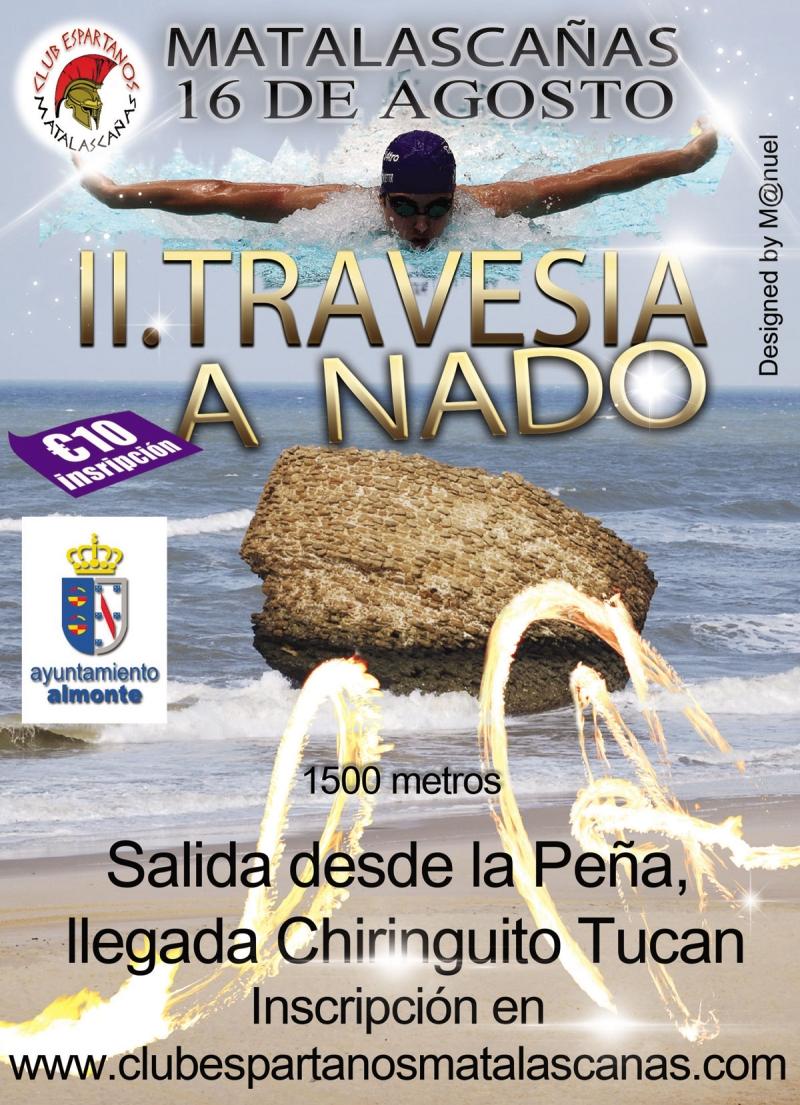 II Travesía a Nado Playa de Matalascañas