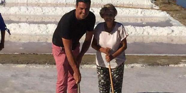 Pedro Sánchez visita las salinas de Isla Cristina