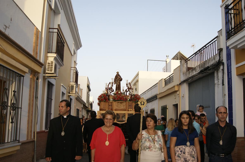 Finalizan, con la Procesión, las Fiestas en Honor a San Francisco de Asís