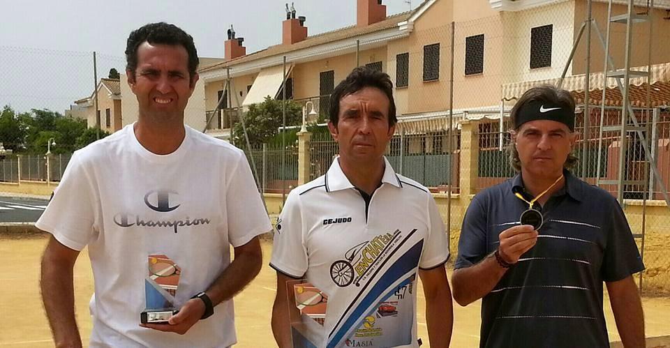"""Paco Angulo Campeón del I Torneo de Tenis """"Las Colinas y Alrededores"""