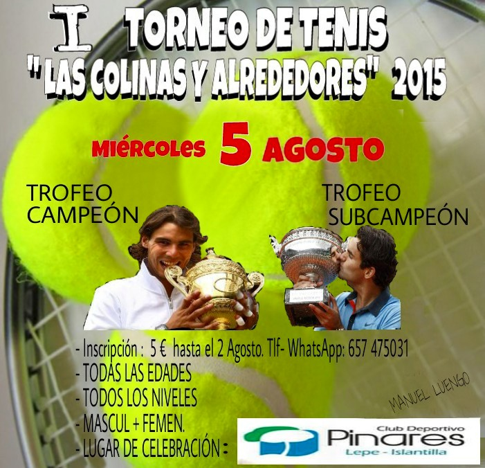 I Torneo de Tenis