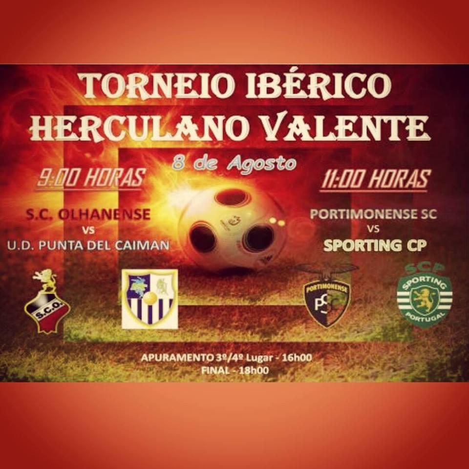 La Punta Juvenil Participa en el Torneio Ibérico «Herculano Valente»