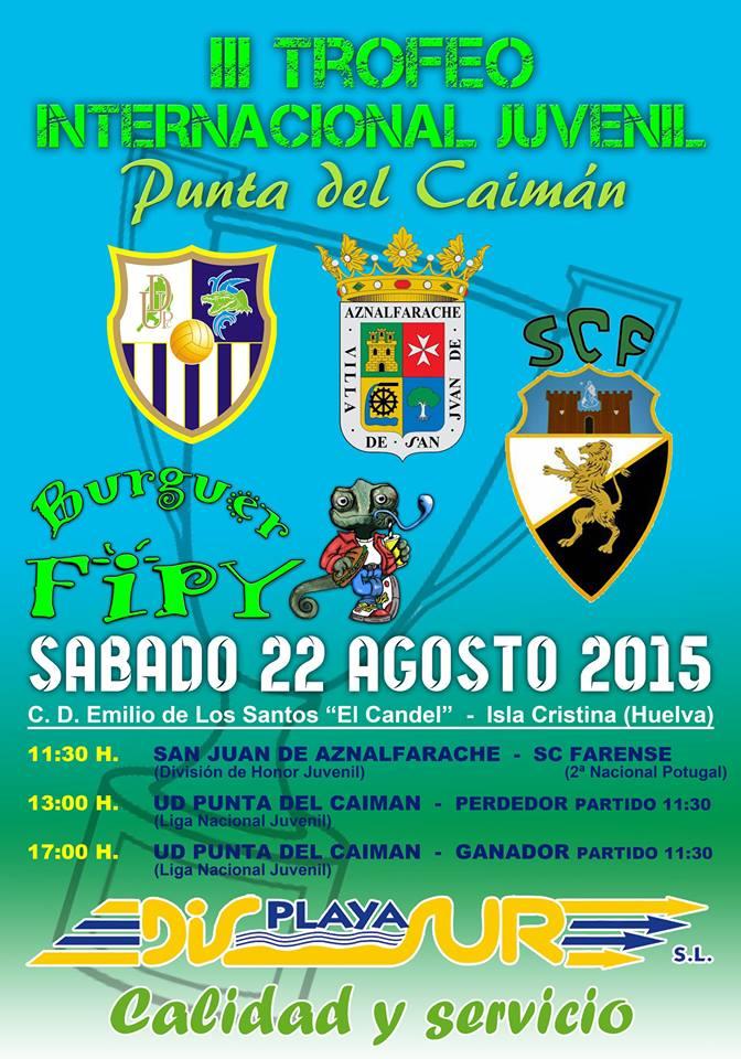 Hoy sábado se celebra en Isla Cristina el III Trofeo Internacional Juvenil Punta del Caimán