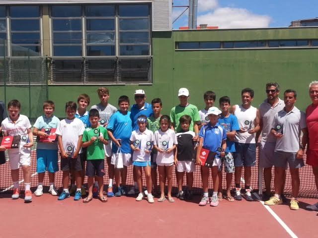 Celebrada con gran éxito de participación la cuarta y última prueba del II Circuito Provincial de Tenis 'Hoteles Barceló'