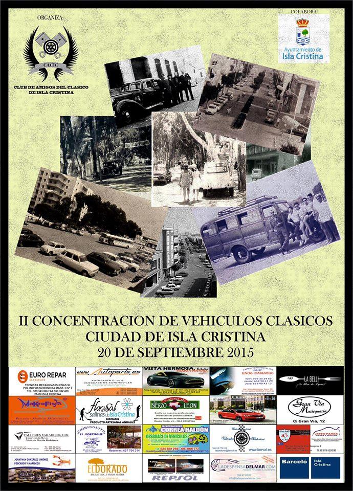 II Concentración de Vehículos Clásicos Ciudad de Isla Cristina