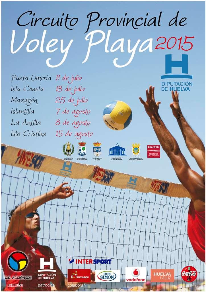 Circuito Provincial Voley Playa 2015