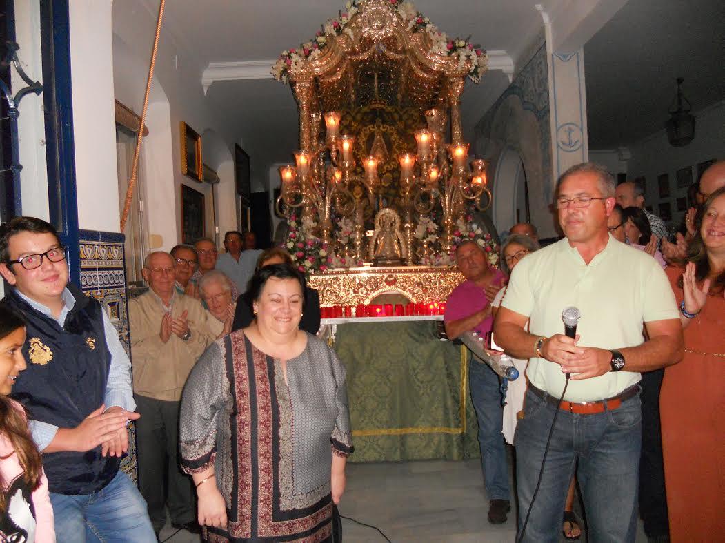Isabel del Carmen Perera Moreno persona designada para realizar el XXXV Pregón para el Rocío 2016 sea