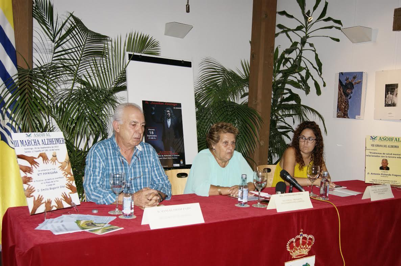 Isla Cristina acoge la VIII Semana dedicada al Alzheimer cuya programación fue presentada ayer