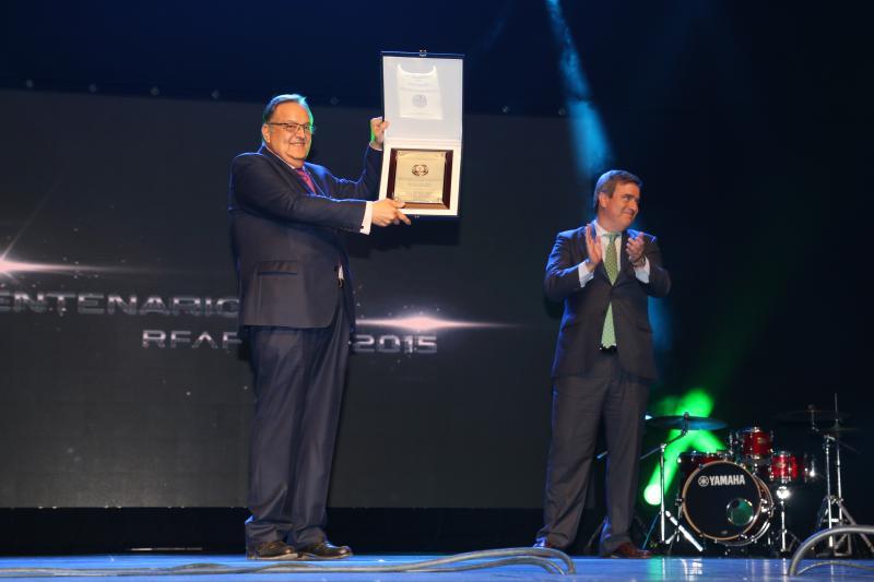 La RFAF recibe la Orden del Mérito Deportivo el año de su centenario
