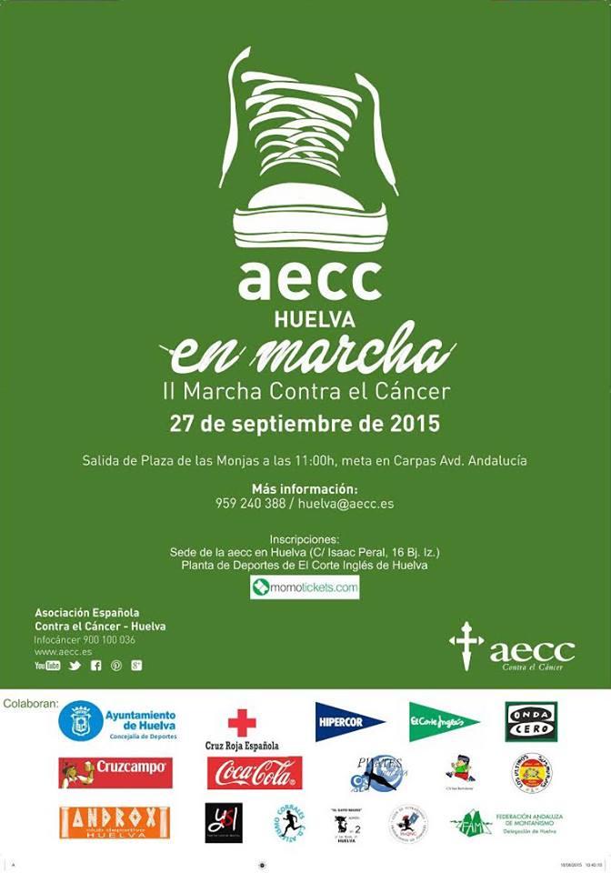 La Capital Onubense Celebra la II Marcha Contra el Cáncer AECC Huelva
