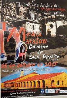 I Media Maratón Camino de San Benito en El Cerro de Andévalo.