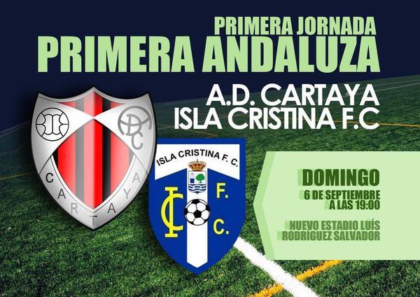 Inicio de liga Cartaya (vs) Isla Cristina