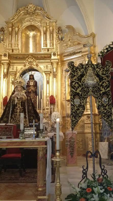 Padre Jesús Cautivo, Virgen de los Dolores y simpecado
