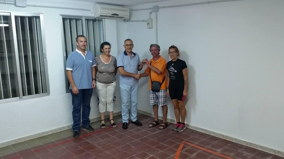El Ayuntamiento Bonares Dota de Sedes a Entidades Deportivas