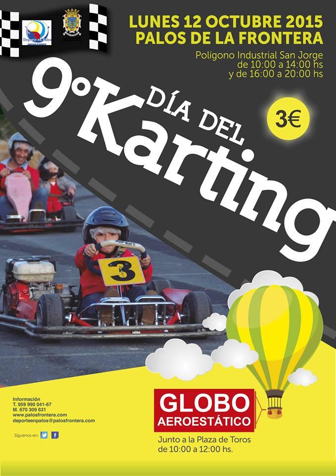Palos de la Frontera Celebra el IX Día del karting y Viaje en Globo