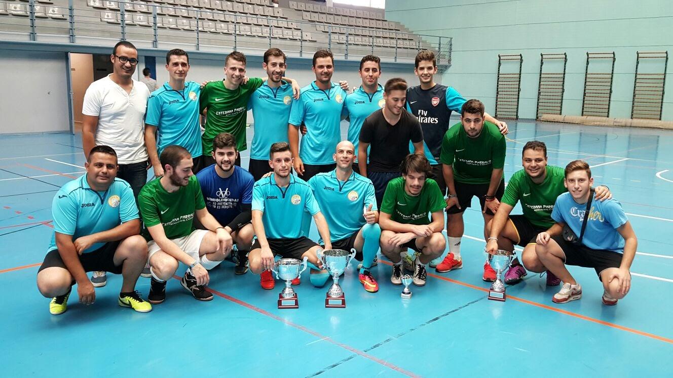 El Equipo Licome Gran Triunfador del Torneo de Fútbol Sala de Gibraleón