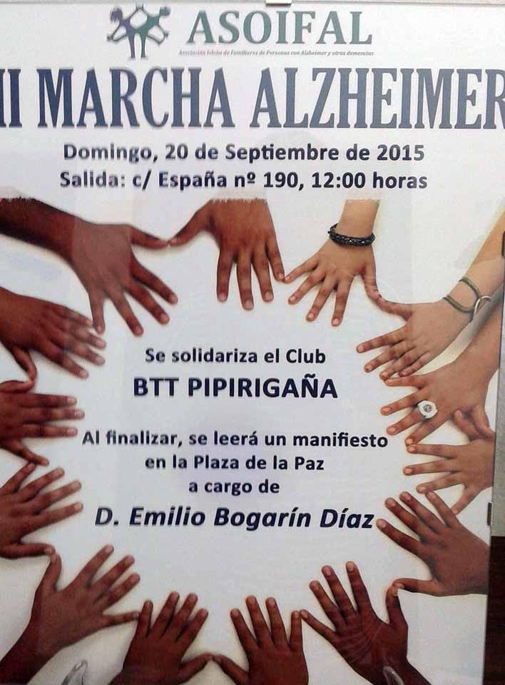 II Marcha Alzheimer de Isla Cristina
