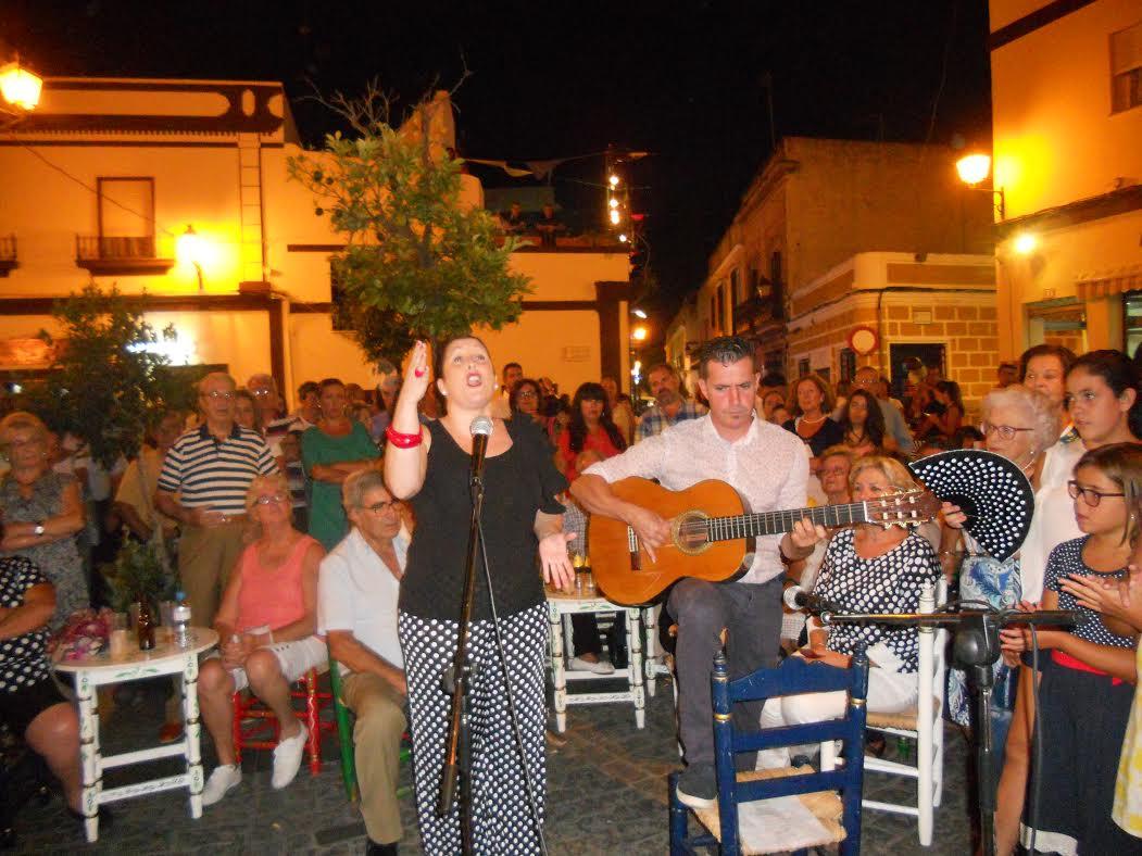María Cerén Redondo Canta la Salve de la Hermandad del Rocío de Isla Cristina