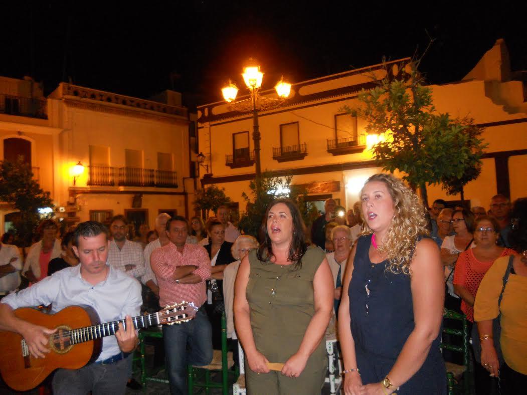 María José Antero y Rocío Medina canta la Salve en Isla Cristina