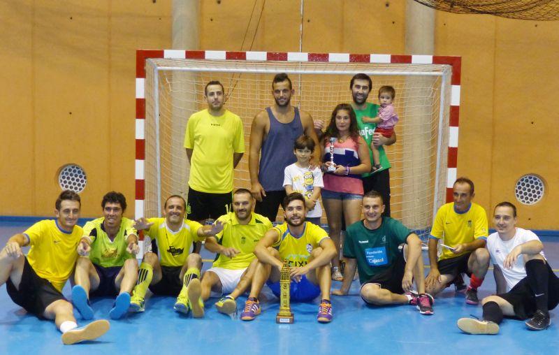 Moguer Juvenil es Campeón del VII Maratón de Fútbol Sala Amigos Soleanos