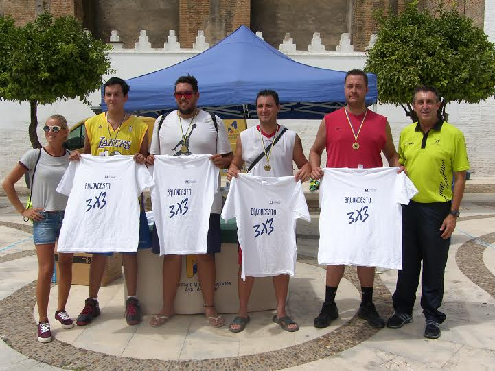 San Juan Worriors Gana el Torneo 3 X 3 de Baloncesto Moguer