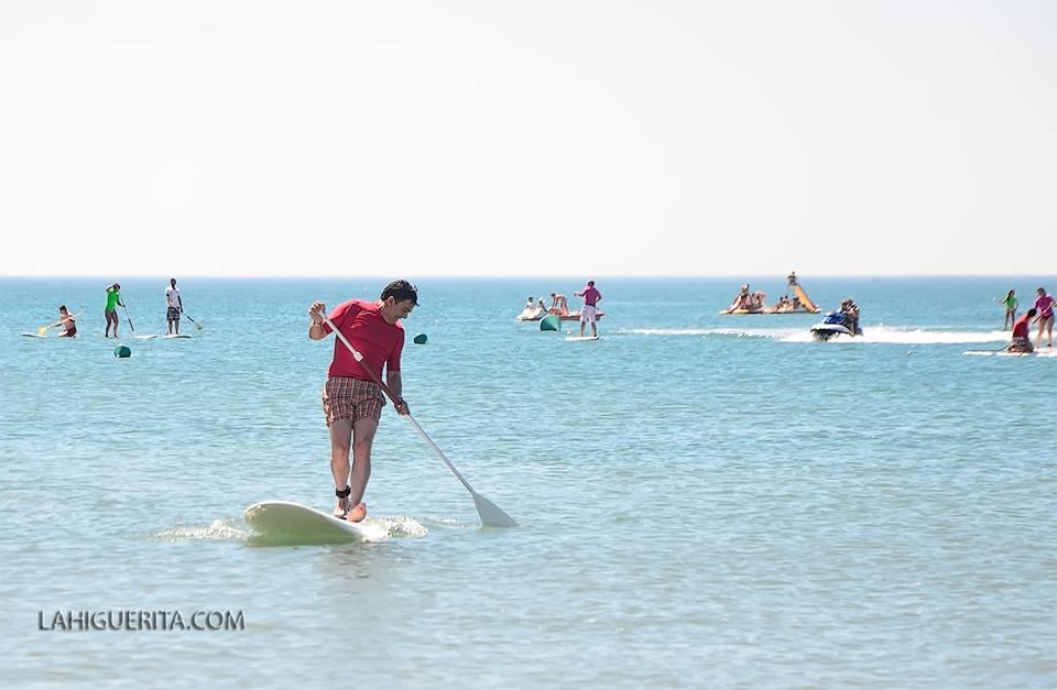 Islantilla prepara para este jueves el descenso del río Piedras en paddle surf
