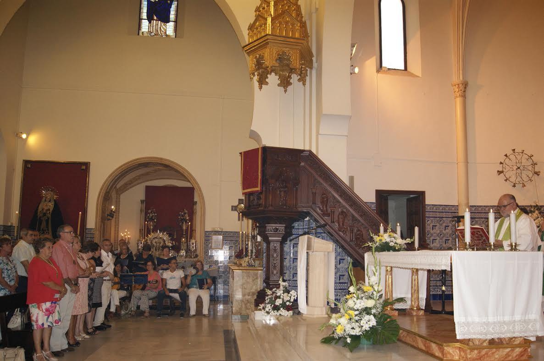 El nuevo sacerdote de la Parroquia de Nuestra Señora de los Dolores toma posesión de su cargo