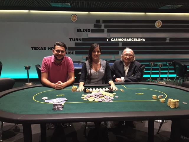 El isleño Paco Contreras Segundo Clasificado en el Torneo de Póker de Barcelona