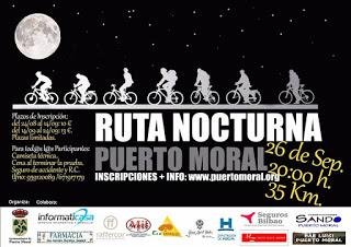 Ruta Nocturna BTT Puerto Moral