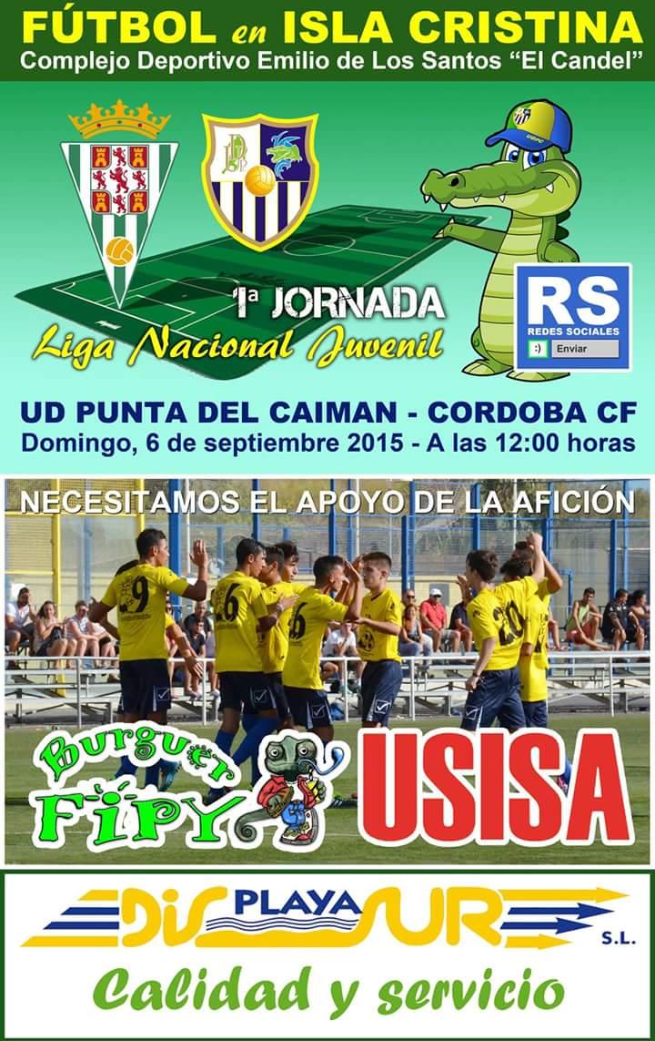Debut en Liga Nacional del Juvenil de la Punta del Caimán