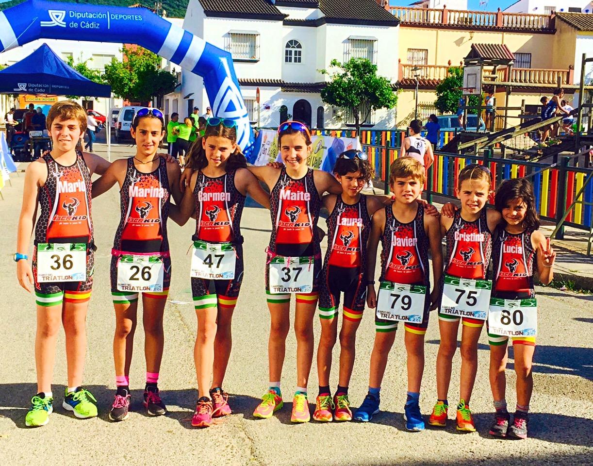 Los Onubenses Suman 10 Podios en el VI Desafío Doñana / V Acuatlón de Menores Mini Desafío Doñana