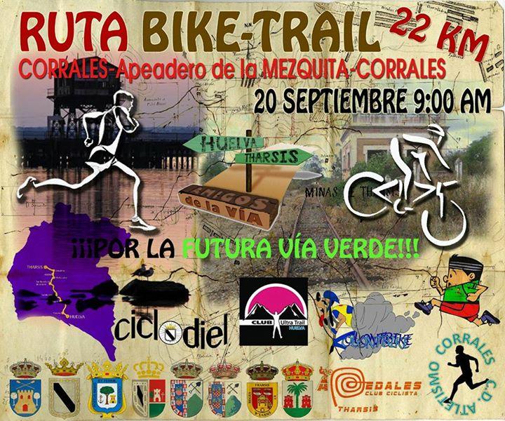 Ruta Bike.Trail Corrales - Apeadero La Mezquita (Gibraleón)-Corrales