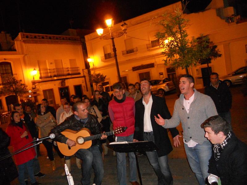 Siempre Contigo' canta la salve rociera en Isla Cristina