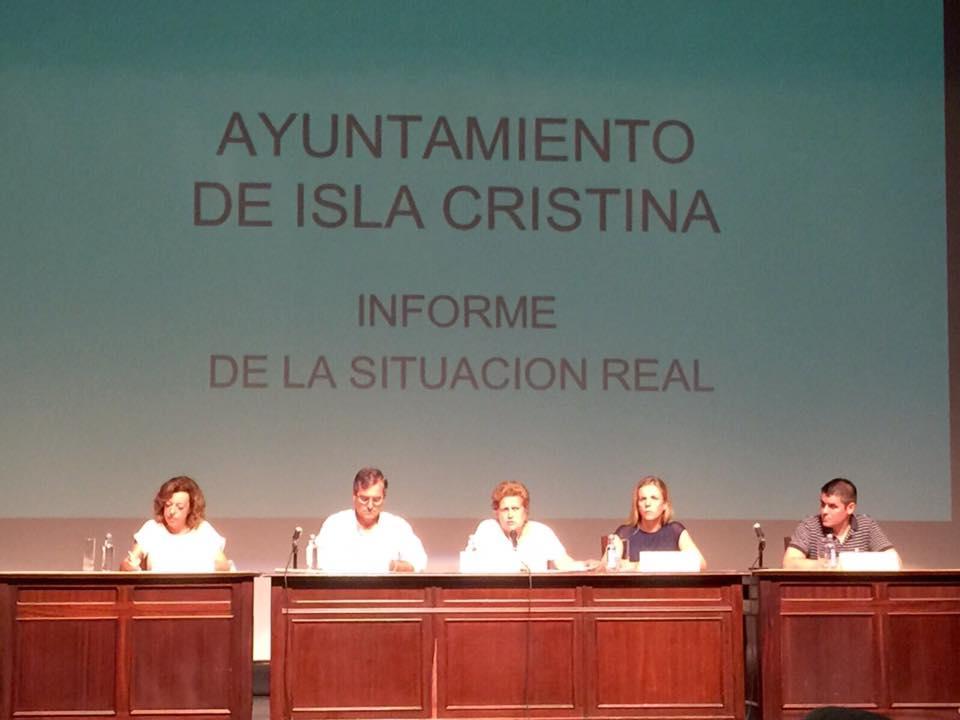 ERE a la vista tras la guerra de cifras en torno a la deuda municipal en Isla Cristina