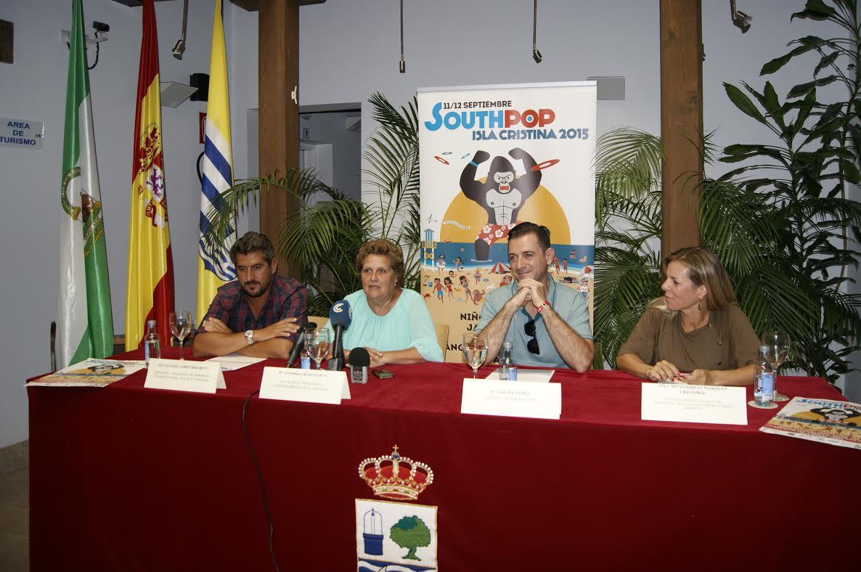 Isla Cristina acoge este fin de Semana la VIII Edición del South Pop Festival